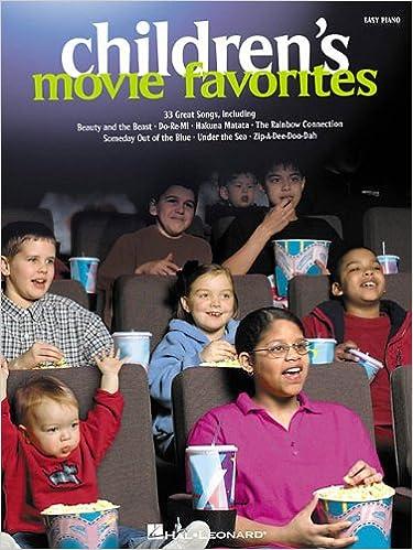 Easy Piano Childrens Movie Favorites