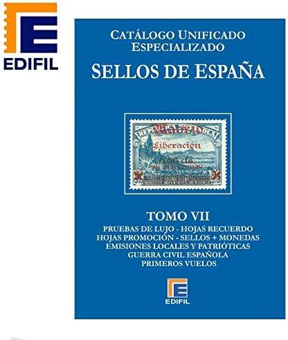 EDIFIL Catálogo Unificado Especializado de Sellos de España Serie Azul Tomo VII: Amazon.es: Juguetes y juegos