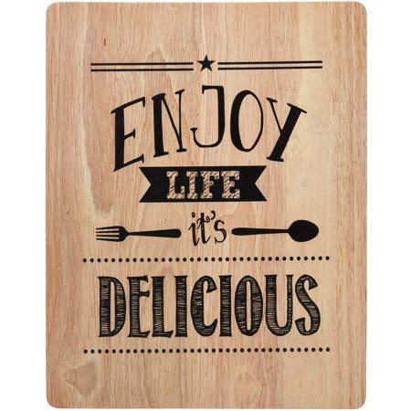 14 inch Wood Cutting Board, Enjoy Life ()