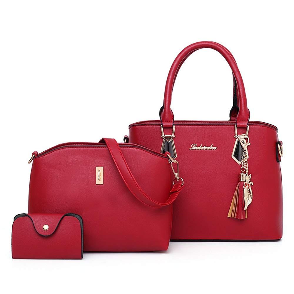 Jxth Damenhandtasche Messenger Bag Damen Pu Lederhandtasche
