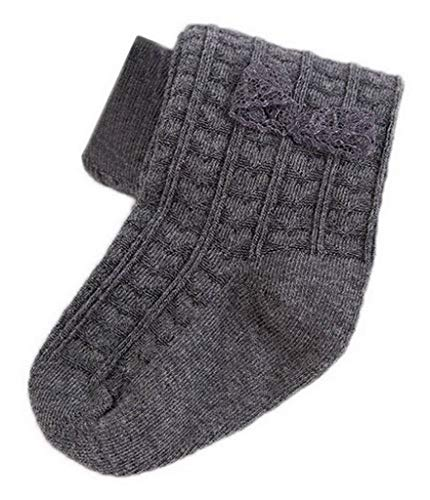 YiyiLai Gestrickt Socken Mädchen für Muster Herbst Kind Winter ...