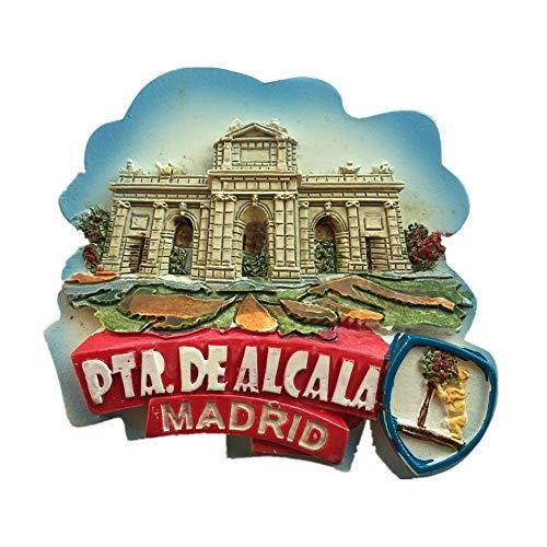 Weekino Souvenir Alcala Madrid España Imán de Nevera Resina 3D ...