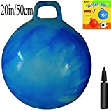 Blue clouds featured, this Space Hopper Ball (also known as Kangaroo Bouncer, Hippity Hop, Hopping Ball, Hoppity Hop, Hop Ball, Sit & Bounce, Jumping Ball) is for taller kids. This Hop Ball is suitable for indoor & outdoor use. It wil...
