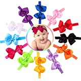 Lovinglove Baby Girls bowknot Hair Accessories Headbands (12 Colors Big Bubbles)
