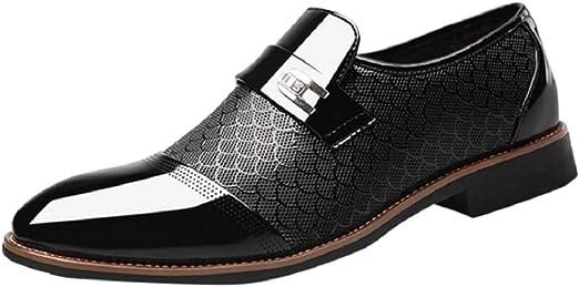 Men Leather Loafer Dress Wedding Nightclub Leisure Business Formal Stulish Shoes