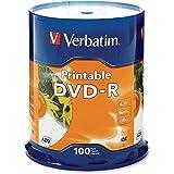 VER95153 - Verbatim DVD Recordable Media - DVD-R - 16x - 4.70 GB - 100 Pack