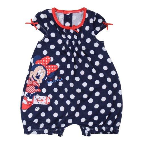 Disney Minnie Mouse Polka Dot Romper for Girl 0-3 Months
