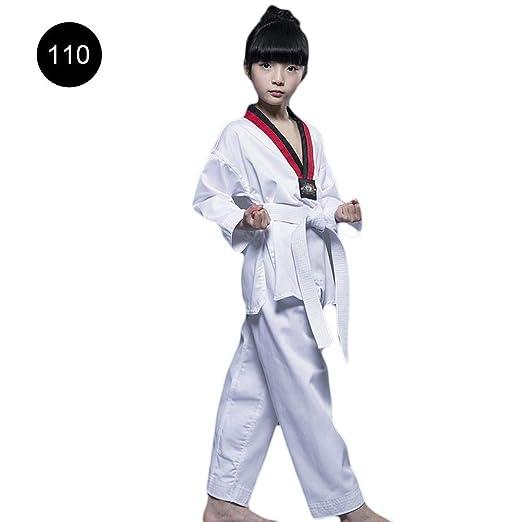 Leo565Tom Taekwondo Uniforme Ropa Taekwondo Niños Algodón Adulto ...