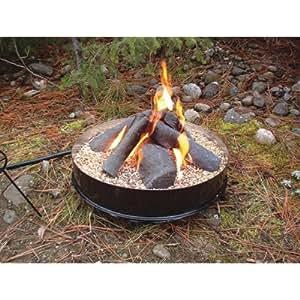 Bear Creek Yukon Legend Portable Propane Campfire Model