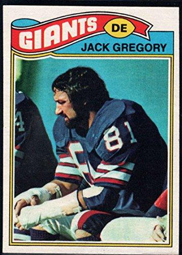 Football NFL 1977 Topps #519 Jack Gregory NY Giants