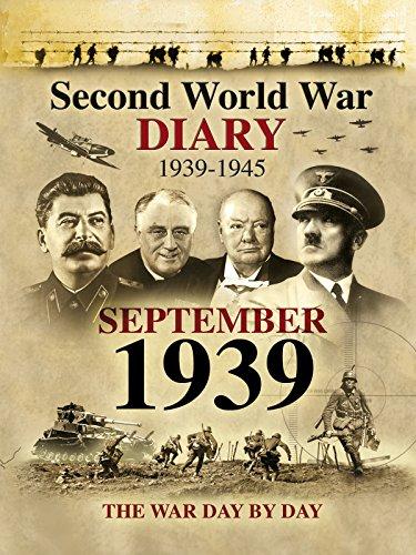 Amazon Com Second World War Diary September 1939