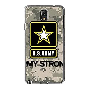 TrevorBahri Samsung Galaxy Note 3 Scratch Resistant Cell-phone Hard Cover Unique Design Beautiful Army Pictures [hxv1807YJMJ]