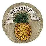 Spoontiques Pineapple Welcome Stepping Stone