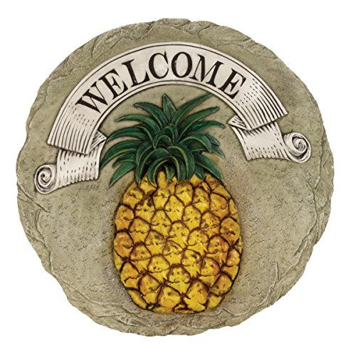 (Spoontiques Pineapple Welcome Stepping Stone)