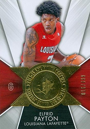Louisiana Lafayette Basketball - Elfrid Payton Basketball Card (Louisiana Lafayette Ragin Cajuns) 2014 Upper Deck Finite Rookies #FI-EP 16/499