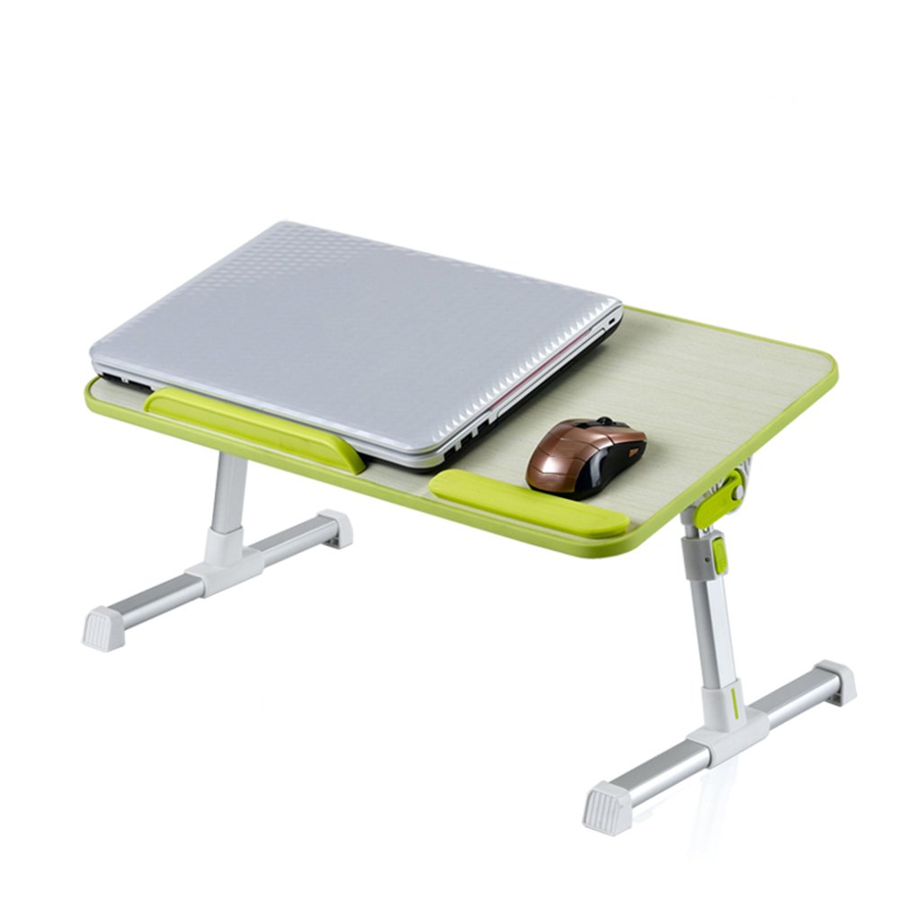 PENGFEI Portable Standing Desk Multifunction Convenient Collapsible Adjustable Height with Cooling Fan College Students 2 Size 2 Colors (Color : Gray, Size : 60x33CM)
