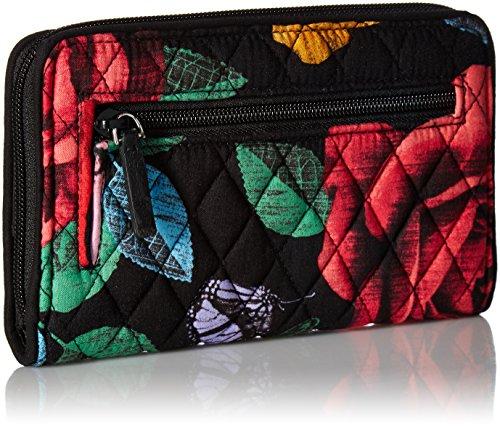 Vera Bradley Women's Rfid Turnlock Wallet, Havana Rose by Vera Bradley (Image #2)