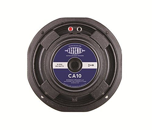 Eminence LEGEND CA10-8 10'' Bass Guitar Speaker, 200 Watts at 8 Ohms by Eminence
