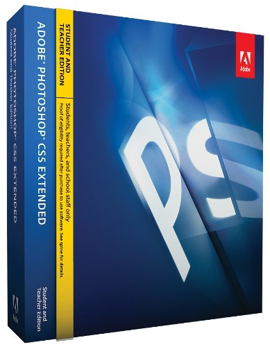Adobe Photoshop Extended Student Teacher