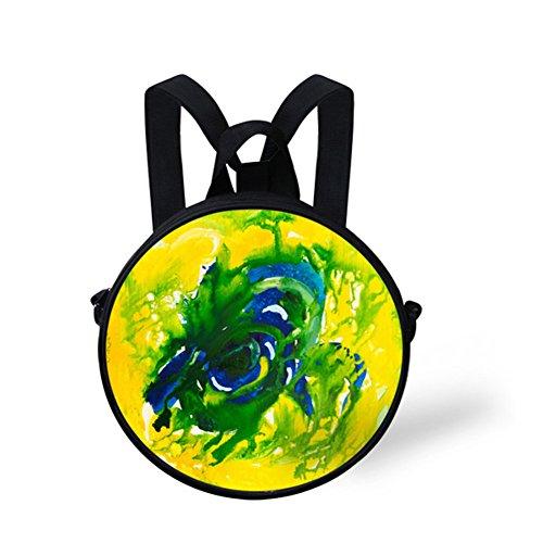 FancyPrint Bag Crossbody Bag Animals Round Print Round NYED0522I qwnqTUSBxr