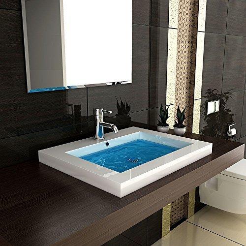 Doppelwaschbecken modern  Modern Badezimmer Hochglanz Waschbecken Handwaschbecken aus ...