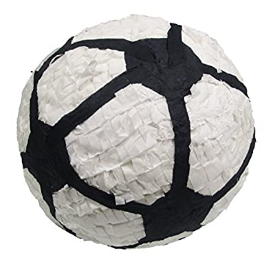 "Soccer Ball Pinata, 12"" Party Game, Centerpiece Decoration and Photo Prop"