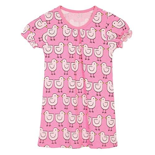 Pink Animal Print Dress - 7