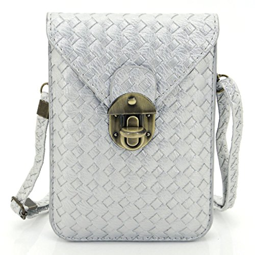 u-times-womens-braid-pattern-pu-leather-cross-body-shoulder-bag-wallet-phone-pouch-with-lock-closure