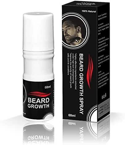 Beard Growth Spray® - 100 % Natural Formula -