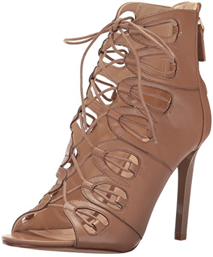 cheap for cheap Nine West Women's Leslie Leather Dress Sandal Natural cheap prices free shipping geniue stockist for sale cheap authentic outlet sneakernews fc0POOhD8