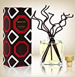 HOUZZ Interior Leather & Amberwood Home Scent Reed Diffuser | Aged Leather, Cashmere, Fragrant Spices & Earthy Amber Wood
