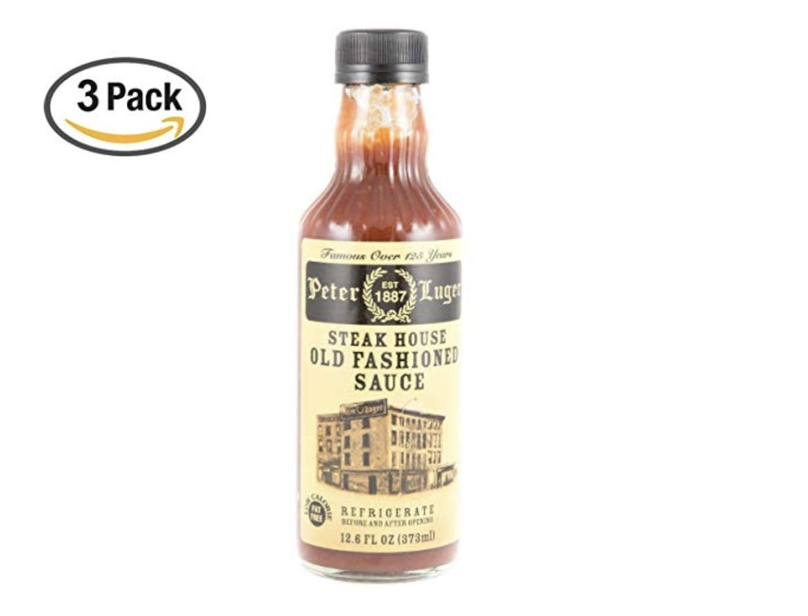 Peter Luger Steak Sauce by Gourmet-Food, 12.6 fl oz (3 Pack)