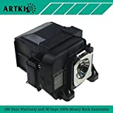 ELPLP77/V13H010L77 Replacement Lamp ELPLP77 for EPSON PowerLite 1975W 1980WU 1985WU 4650 4750W 4855WU G5910/HC 1440 by Artki