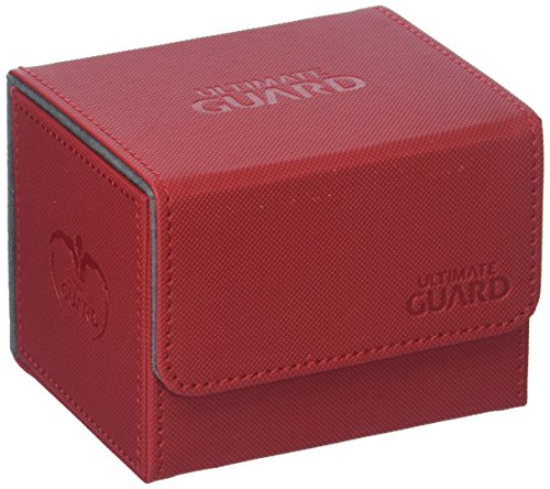 Ultimate Guard Sidewinder Deck Box 100+ XenoSkin Card Game, Red, Large (Best Red Commander Cards)