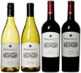 Parducci Wine Cellars Party Wine Mixed 4 Pack, 4 x 750 mL