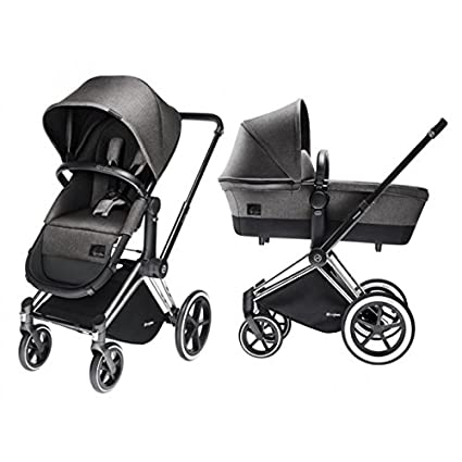 CYBEX Priam Duo Travel System 2 in1 Manhattan Grey