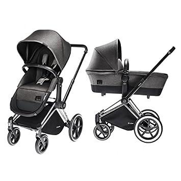 Amazon Com Cybex Priam Duo Travel System 2in1 Manhattan Grey Baby