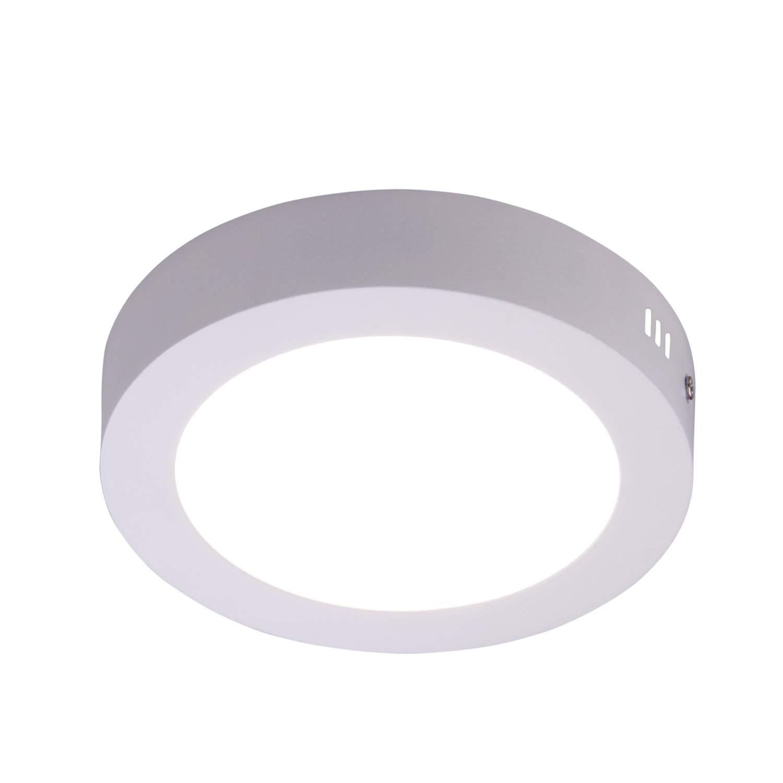 Led flush mount ceiling light 9 18w 1600lm 4000k daylight white