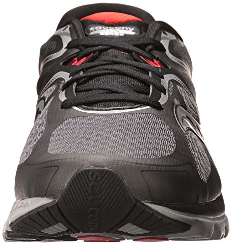 Saucony Men's Kinvara 6 Running Shoe Black/Grey/Red cheap latest collections view sale online sale pay with visa good selling for sale manchester great sale cheap online ImOr1w2