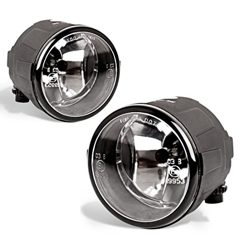 Fog Lights For Nissan Cube Juke Quest Murano Rogue Versa Infiniti FX EX QX M G Q (OE Style Glass Lens w/ H8 12V 35W Bulbs)