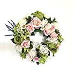 LI-HUA-CAT-Handmade-Floral-Artificial-Flowers-Garland-Rose-Wreath-for-Home-Party-Decor-Valentines-Wreath-Green