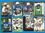 EDGERRIN JAMES Lot of 8 Cards - Includes 4 Rookie Cards - RC - Colts - 1999 - 2000