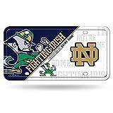 NCAA Notre Dame Fighting Irish Metal Auto Tag