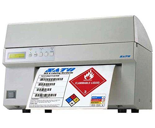 (Sato M10e Network Thermal Label Printer, Monochrome - 5 in/s Mono - 305 dpi)
