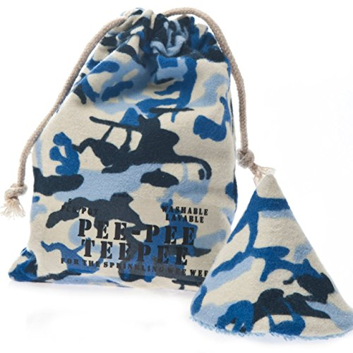 beba bean Pee-pee Teepee Camo Blue - Laundry Bag