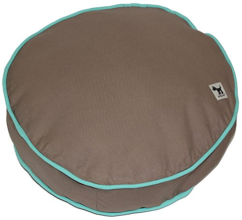 Molly Mutt Wild Horses Round Petite Dog Bed Duvet - 100% Cotton, Durable, -