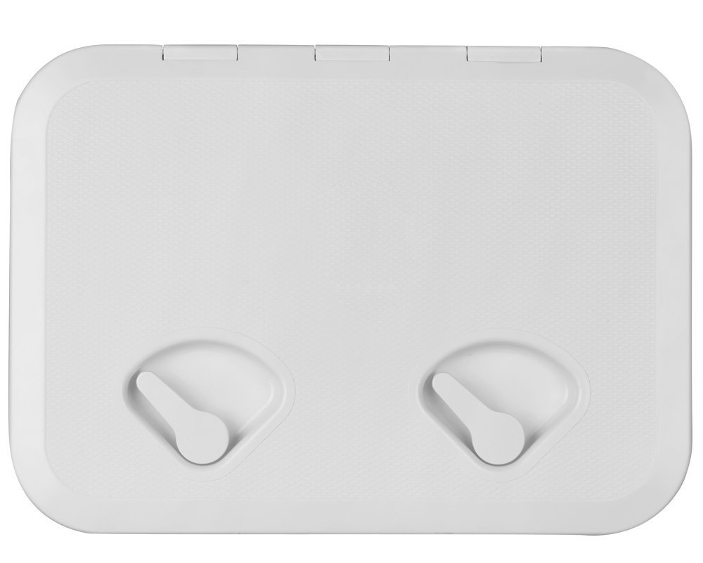 SEAFLO MARINE BOAT DECK ACCESS HATCH & LID 17.3'' X 12.4'' - WHITE 440mm x 315mm by SEAFLO