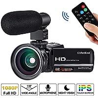 Video Camera Camcorder for YouTube CofunKool Full HD...