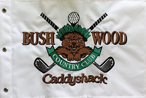 (CaddyShack Embroidered Bushwood Country Club Pin)