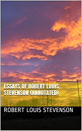 robert louis stevenson essays of travel